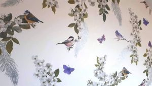 The Bird room wallpaper