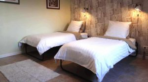 The Guesthouse twin beds