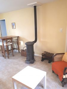 Suite woodburner